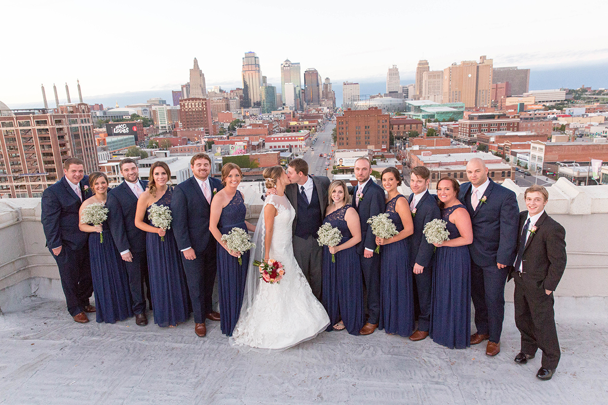 Jennifer & Aaron – Firestone Building Downtown Kansas City Wedding