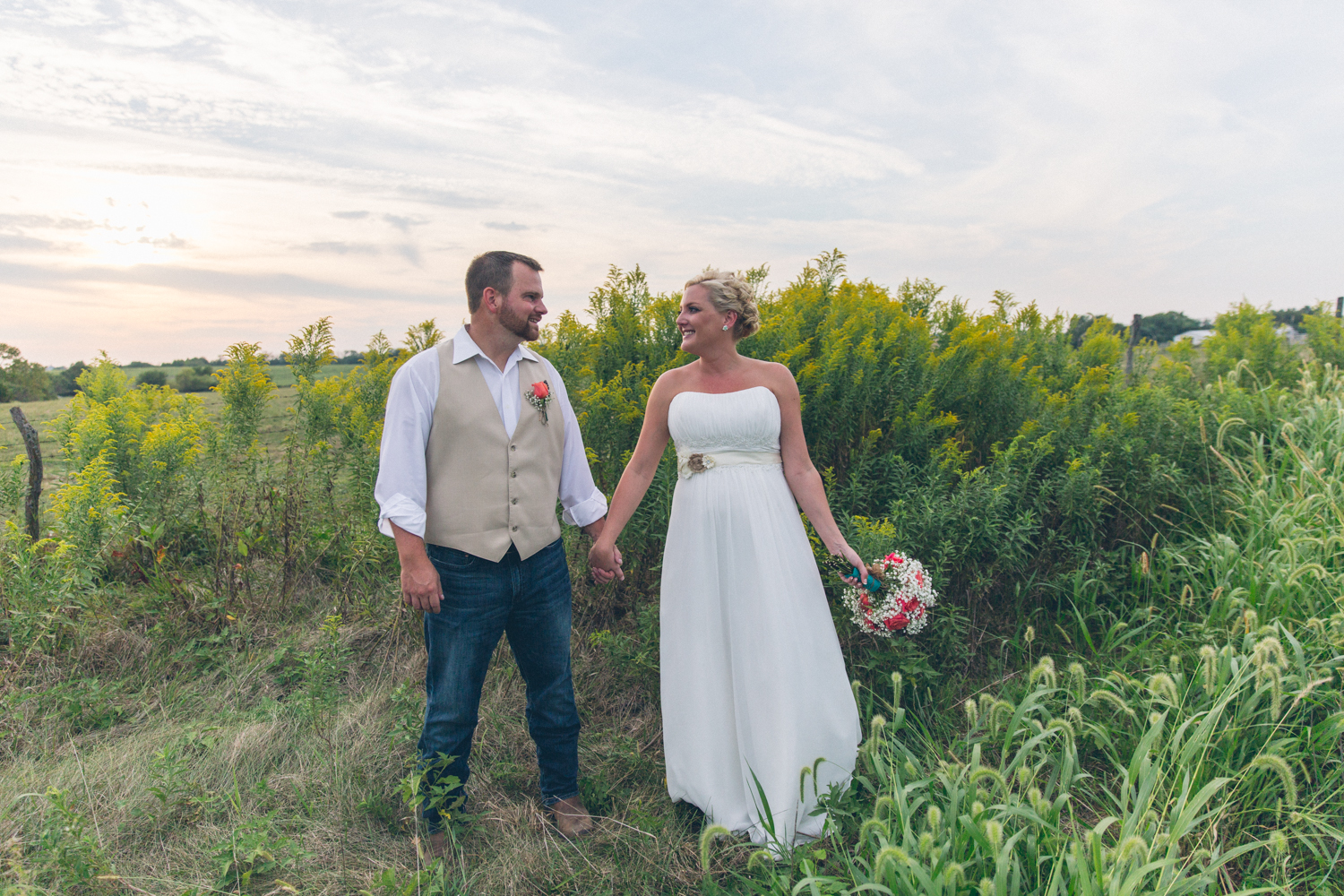 Erica + Bryan – Lawson, MO Wedding